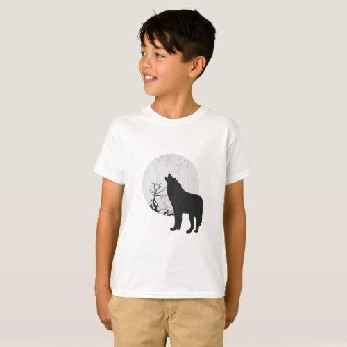 Wolf Moon T_Shirt
