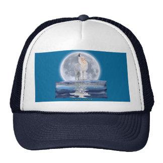 WOLF & MOON TRUCKER HAT