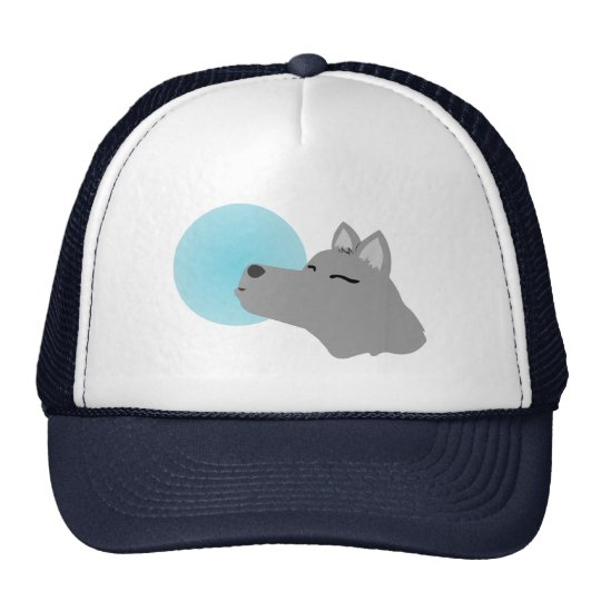 Wolf Moon Trucker Hat