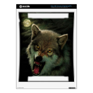 Wolf moon xbox 360 console skins