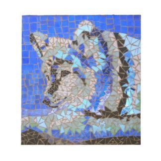 Wolf Mosaic Notepad