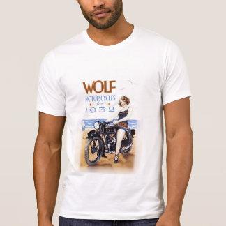 WOLF MOTORCYCLE VINTAGE ADVERTISING. T-Shirt