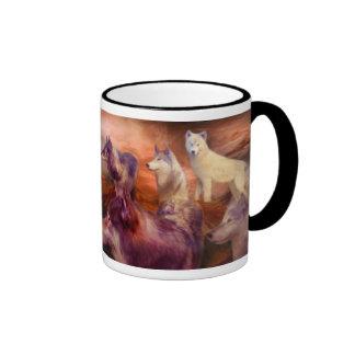 Wolf Mountain Art Mug