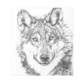 Wolf Notepad