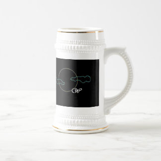 Wolf of the Past logo stein