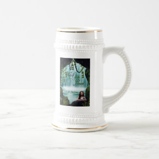 Wolf of the Present Stein with Cover Art 18 Oz Beer Stein