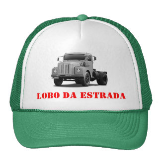 Wolf of the road trucker hat