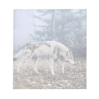 Wolf On the Prowl Notepad