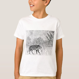 Wolf on the Prowl Sketch T-Shirt