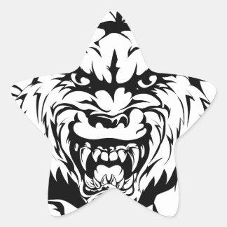 Wolf or Werewolf breakout Star Sticker