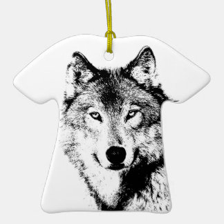 Wolf Ornaments