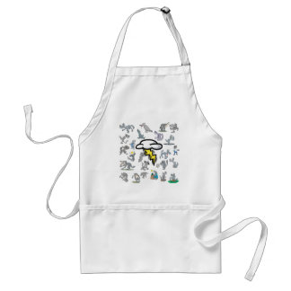 Wolf Pack Aprons