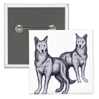 Wolf Pack Pin