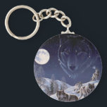 "Wolf Pack Keychain<br><div class=""desc"">Keychain Template</div>"