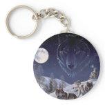 Wolf Pack Keychain