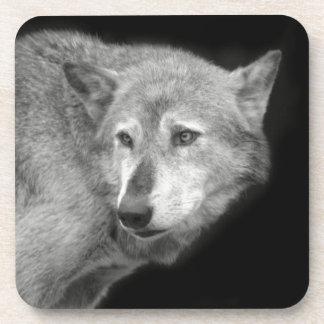 Wolf Pack Leader copy.jpg Beverage Coaster