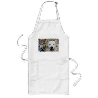 Wolf Pack Long Apron