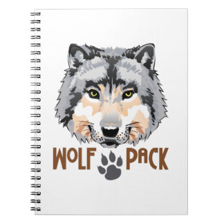 WOLF PACK NOTEBOOK