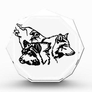 Wolf Pack Outline Award
