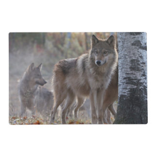 Wolf pack placemat