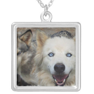 Wolf Pack Sterling Silver Necklace