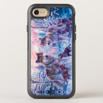 Wolf painting - arctic wolf - grey wolf OtterBox symmetry iPhone 8/7 case
