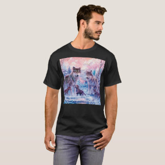 Wolf painting - arctic wolf - grey wolf T-Shirt