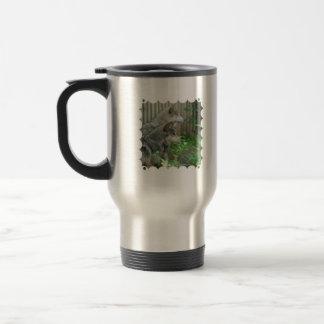 Wolf Pair Travel Mug