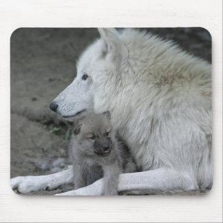Wolf Parent Mousepad