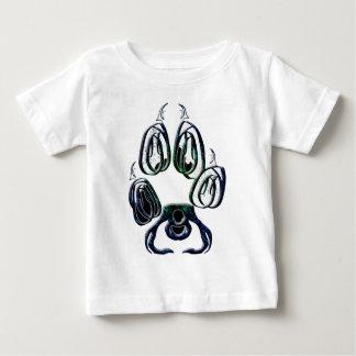 Wolf Paw Print Baby T-Shirt