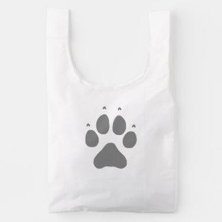 Wolf Paw Reusable Bag