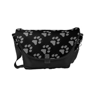 Wolf Paw Small Messenger Bag