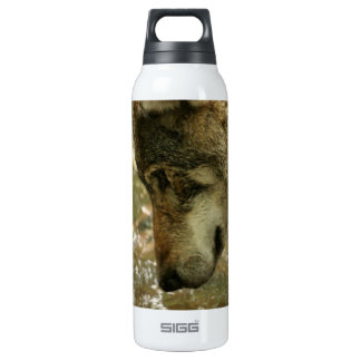Wolf Pawing Water SIGG Thermo 0.5L Insulated Bottle