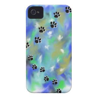 wolf pawprint phone case iPhone 4 Case-Mate case