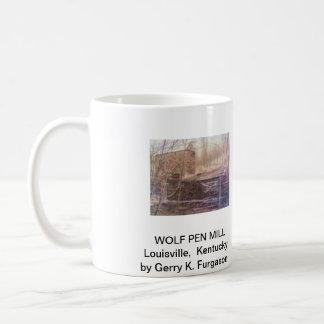 WOLF PEN MILL COFFEE MUGS