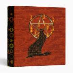 Wolf Pentagram Binders