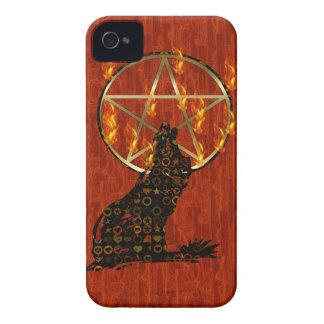 Wolf Pentagram iPhone 4 Case