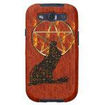 Wolf Pentagram Samsung Galaxy SIII Covers