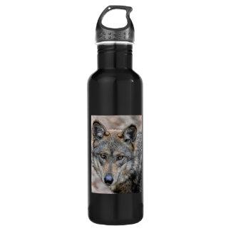 Wolf 24oz Water Bottle