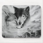 wolf pic 3 mousepad
