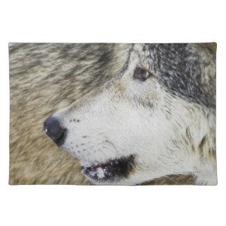 Wolf Cloth Place Mat