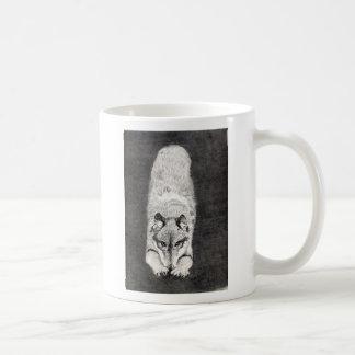 Wolf Playing Mug