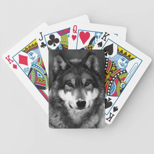 Wolf Bicycle Card Decks
