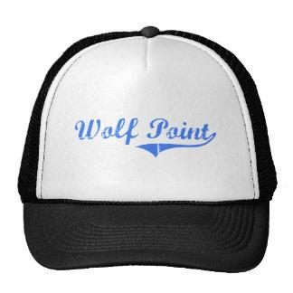Wolf Point Michigan Classic Design Trucker Hat