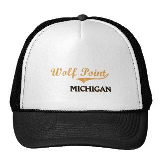 Wolf Point Michigan Classic Trucker Hat