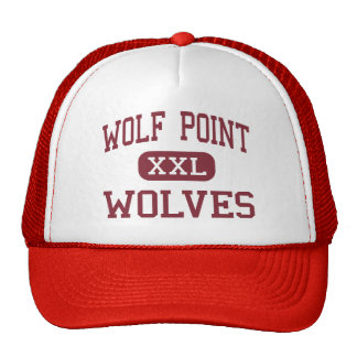 Wolf Point - Wolves - High - Wolf Point Montana Trucker Hat