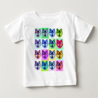 Wolf Pop Art Baby T-Shirt