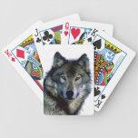 Wolf Portrait Bicycle Card Deck