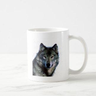 Wolf Portrait Classic White Coffee Mug