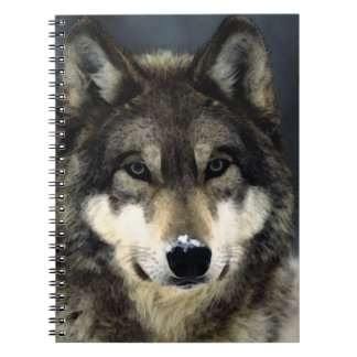Wolf Portrait Notebook